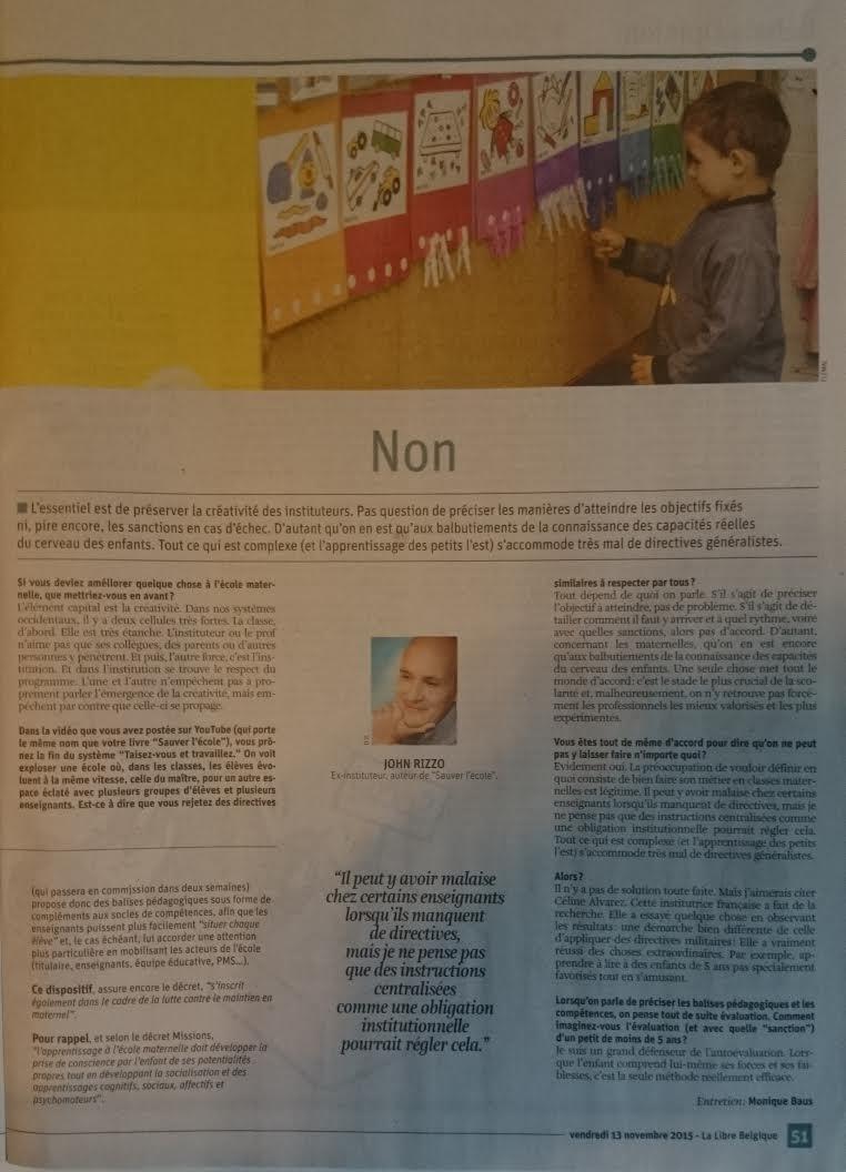 article La LIbre